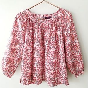J.Crew | Liberty Arts Fabric The Perfect Top